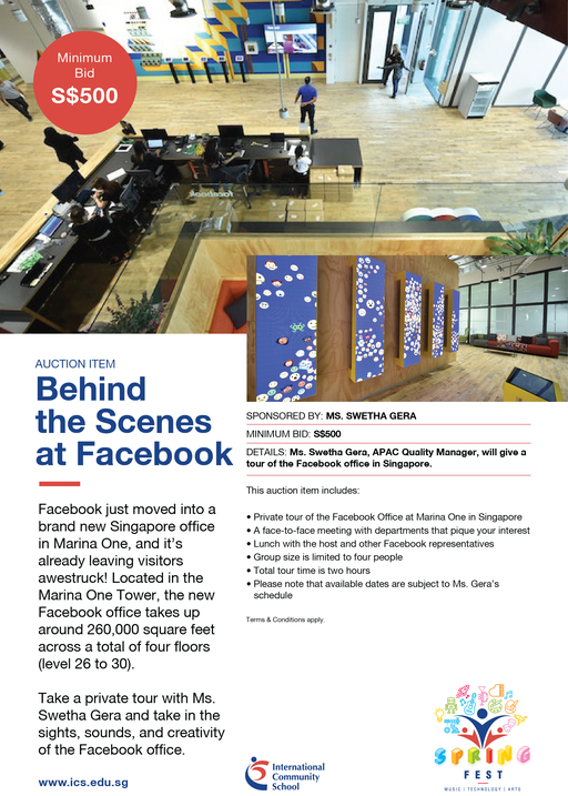 Behind the scenes at Facebook