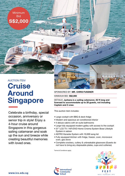 Cruise Around Singapore