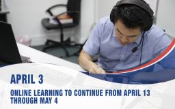 April 3, Online Learning To Continue From April 13 Through May 4