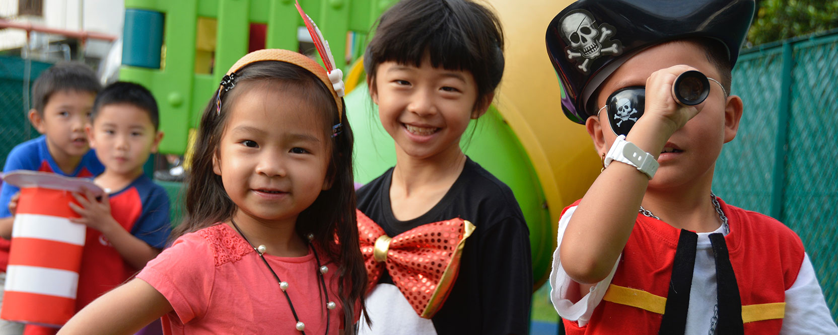 ICS Singapore elementary students dress up day